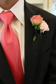 coral boutonniere dallas wedding florist posh floral designs posh floral designs
