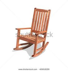 Wood Rocking Chair Rocking Chair Stock Images Royalty Free Images U0026 Vectors