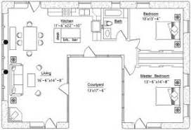 good u shaped house plans with courtyard pool 1 v shaped ranch
