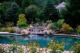 beautiful landscape pool designs contemporary interior design