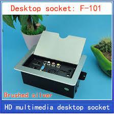 cachee bureau prise de bureau prise de table réseau xlr sortie d