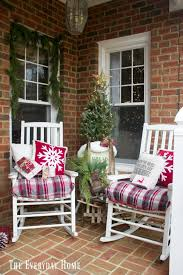 old fashioned christmas front porch the everyday home