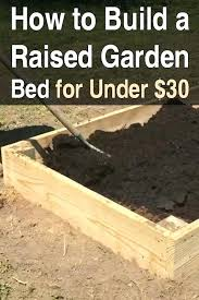 How To Build A Large Raised Garden Bed - building raised garden beds corrugated iron raised garden beds