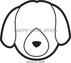 domestic dog stock vector images alamy