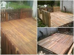 Pallet Of Laminate Flooring My Terrace Made Out Of Repurposed Wooden Pallets U2022 1001 Pallets