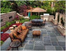 Patio Design Pictures by Backyards Splendid Backyard Concrete Cost Imprinted Concrete
