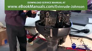 how to replace the water pump on a johnson evinrude 85300hp