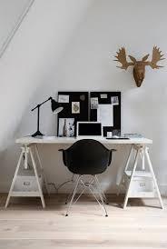 bureau avec treteau 42 idées déco de bureau pour votre loft