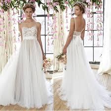 dh wedding dresses 2015 arrival beautiful lace appliques wedding gowns straps