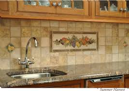 kitchen backsplash murals ceramic tile murals for kitchen backsplash glamorous decorative