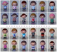 all acnl hairstyles with colours daily acnl tumblr