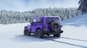 purple jeep grand cherokee 2016 jeep wrangler backcountry limited edition suv