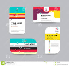 business card template business card layout design vector illu