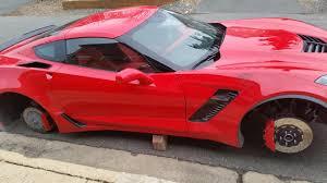 corvette stingray z06 my z06 wheels were stolen this morning chevrolet corvette