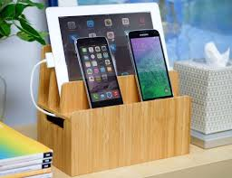 charging station organizer multi device charging station