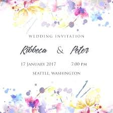 online marriage invitation card online wedding invitation maker niengrangho info