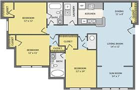 center colonial floor plans colonial grand at apartments in nc maa