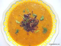 comfort food for sundaysupper red lentil soup with crispy