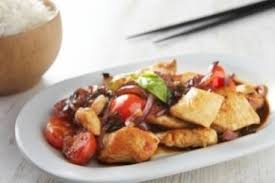 cuisine asiatique poulet recette de wok asiatique de poulet facile et rapide