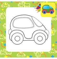 toy car royalty free vector image vectorstock
