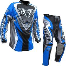 motocross jerseys wulf attack enduro motocross jersey u0026 pants blue kit mx dirt