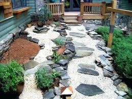 Rock Patio Designs River Rock Landscaping Ideas Golbiprint Me