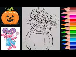 abby caddaby halloween coloring coloring prismacolor