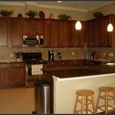 Are Those Cherry Cabinets With Brushed Nickel Hardware Be Still - Kitchen cabinet hardware brushed nickel