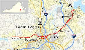 Virginia State Map With Cities by Virginia State Route 36 Wikipedia