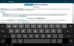 wordperfect viewer for android android apps on google play