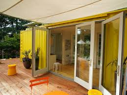 idea home sunset idea house hybrid architecture s yellow shipping container