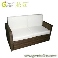 wicker outdoor sofa luxury kd sofas outdoor furniture balcony rattan sofa lowes resin