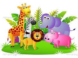 Jungle Wall Decals Safari Wall Decals For Kids Vdi1079en Artpainting4you Eu