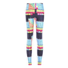 periodic table large size fashion color elements of the periodic table digital printed tight