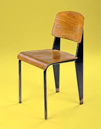 chaise prouv la chaise standard dite métropole de jean prouvé 1950 musée