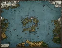 Fantasy Map Maker Tariel World Map Old By Levodoom On Deviantart