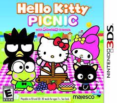 kitty picnic sanrio friends encyclopedia gamia