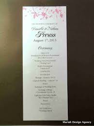 wedding program order template unique wedding programs template a modern and bold