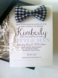 bow tie baby shower invitations bowtie baby shower invitation in box custom fabric bowtie custom
