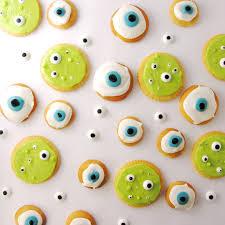 a bowl of eyeball cookies easybaked
