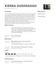 Nurse Assistant Resume Sample by Nursing Assistant Resume Samples Visualcv Resume Samples Database