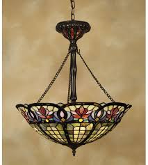 Quoizel Ceiling Light Quoizel Tf1438vb Tiffany 3 Light 22 Inch Vintage Bronze Pendant