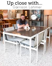 dining room manager up close with garrison latimer