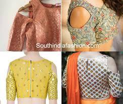 blouse patterns cold shoulder saree blouse patterns