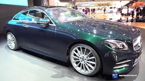 2018 mercedes benz e class e 300 coupe exterior interior