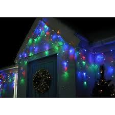 christmas light gutter hooks werchristmas snowing icicle christmas lights string with 360 led