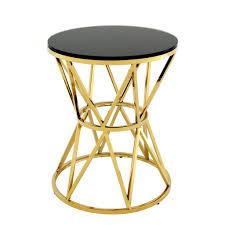 Gold Side Table Gold Side Table L Eichholtz Domingo Oroa Modern Furniture
