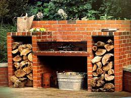 Build Brick Oven Backyard by How To Build A Brick Barbecue For Your Backyard Icreatived