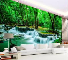 compare prices on forest wall murals online shopping buy low custom mural 3d room wallpaper the primeval forest lake home decoration painting picture 3d wall murals