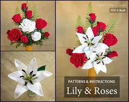 flower decoration for hair crochet flower pattern collection crochet roses for